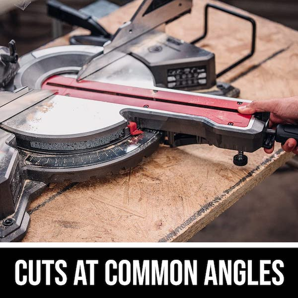 Miter Saw Cuts at Common Angles