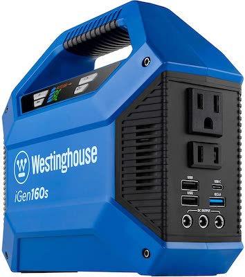 Westinghouse Outdoor Power Equipment iGen160s Portable Power Station