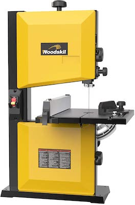 Woodskil 3A 9-Inch Band Saw,2500FPM & 1720RPM Low Noise Induction Motor Bandsaw